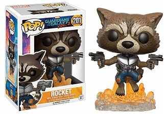 Guardians of the Galaxy 2 Pop! Vinyl Figur 201 Raccoon
