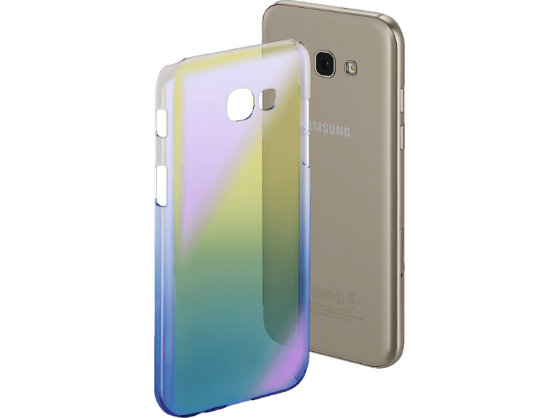HAMA  Mirrow Backcover Samsung Galaxy A5 (2017) Polycarbonat (PC) Blau | 04047443346933
