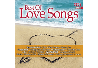 VARIOUS - Best Of Love Songs - (CD)