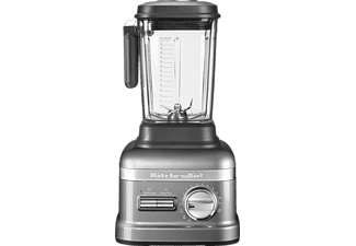 KITCHENAID 5KSB8270EMS Artisan Power Plus, Standmixer, 1800 Watt, Silber