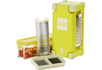 GENIUS 33840 Nicer Dicer Magic Cube Gourmet, Hobel-Set