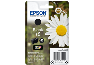 EPSON Singlepack Black 18 Claria Home Ink - (C13T18014012)
