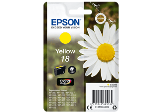 EPSON Singlepack Yellow 18 Claria Home Ink - (C13T18044012)