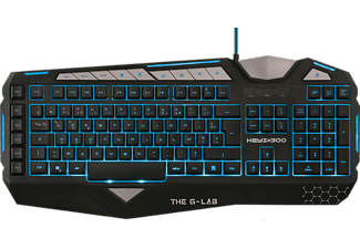 THE G-LAB Clavier gamer KEYZ#300 AZERTY (KEYZ300/FR)