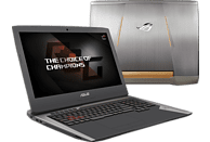 ASUS G752VS(KBL)-BA338T, Gaming-Notebook mit 17.3 Zoll Display, Core™ i7 Prozessor, 16 GB RAM, 1 TB HDD, 512 GB SSD, GeForce GTX 1070, Grau