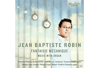 Orchestre Régionale De Normandie - Robin: Fantaisie Mécanique Music With Organ - (CD)