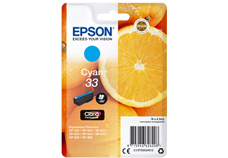 EPSON Original Tintenpatrone Orange Cyan (C13T33424012)
