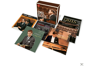 Emil Gilels, New York Philharmonic Orchestra, The Philadelphia Orchestra, Chicago Symphony Orchestra - Emil Gilels-The Complete RCA and Columbia Album - (CD)