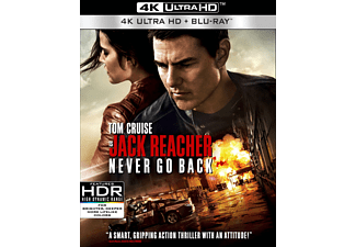 Jack Reacher 2: Never Go Back 4K UHD