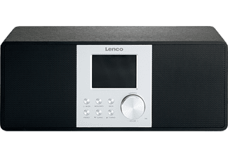 LENCO Internet radio DAB+ Zwart (DIR-200 BLACK)