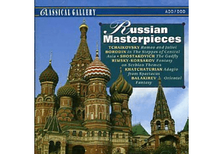 New Philharmonia Orchestra London, Slovak Philharmonic Orchestra, Radio Sofia Symphony Orchestra - Russian Masterpieces - (CD)