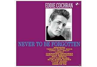 Eddie Cochran - Never To Be Forgotten+4 Bonus Tracks (180g Vinyl - (Vinyl)
