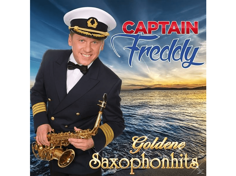 Captain Freddy - GOLDENE SAXOPHONHITS [CD]