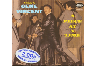 Vincent, Gene & Blue Caps, The - A Piece At A Time-A Tribute To Gene Vincent (2-C - (CD)