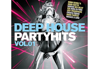 VARIOUS - Deep House Partyhits Vol.1 - (CD)