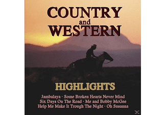 VARIOUS - Country & Western Highlights - (CD)