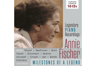 Annie Fischer - Annie Fischer-Milestones Of A Piano Legend - (CD)