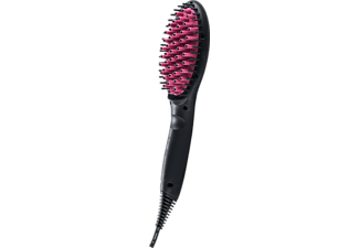 GENIUS 17013 Simply Straight SMART, Glättbürste, 40 Watt, Schwarz/Pink