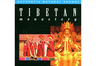 Authentic Natural Sounds - Tibetan Monastery - (CD)