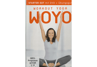 WOYO Workout-Yoga (Starter Set mit DVD + Übungsgurt) - (DVD)