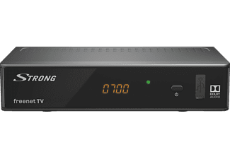 STRONG SRT 8541 DVB-T2 HD Receiver (HDTV, DVB-T2 HD, Schwarz)