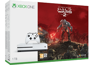 MICROSOFT Xbox One S Konsol 1 TB Halo Wars 2 Outlet