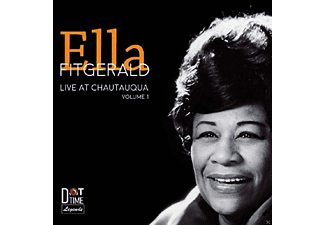 Ella Fitzgerald - Live From Chautuaqua Vol.1 - (CD)