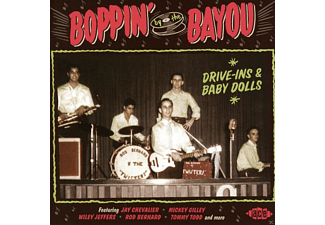 VARIOUS - Boppin By The Bayou-Drive-Ins & Baby Dolls - (CD)