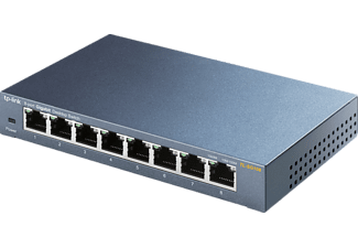 Switch - TPLink, 8 puertos Ethernet, Gigabit