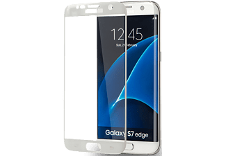 AZURI Curved Tempered Glass Galaxy S7 Edge Wit (AZSPTGEDGESAG935-WHT)