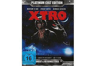 X-TRO (Platinum Cult Edition) - (Blu-ray + DVD)