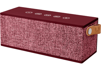 FRESH N REBEL Draagbare luidspreker Rockbox Brick Fabriq Edition Ruby (1RB3000RU)