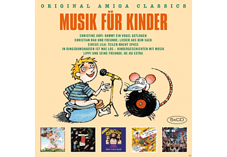 VARIOUS - AMIGA in Dingsbumshausen...(AMIGA Musik für Kinde - (CD)
