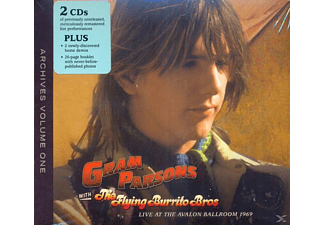 The Flying Burrito Brothers, Gram Parsons - Archive Vol.1 Live At The Avalon Ballroom 69 - (CD)