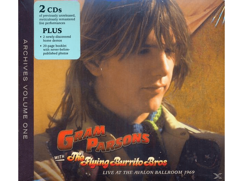 The Flying Burrito Brothers, Gram Parsons - Archive Vol.1 Live At The Avalon Ballroom 69 [CD]
