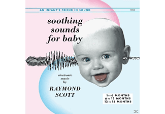 Raymond Scott - SOOTHING SOUNDS FOR BABY,1-3 - (LP + Download)