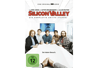 Silicon Valley - Die komplette 3. Staffel - (DVD)