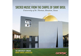 Brady/the University Singers Knapp - SACRED MUSIC FROM THE CHAPEL OF ST.BASIL - (CD)