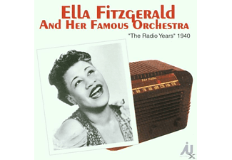 Ella Fitzgerald - The Radio Years 1940 - (CD)