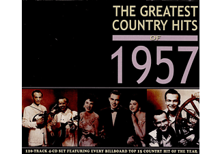 VARIOUS - The Greatest Country Hits of 1957 - (CD)