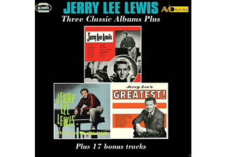 Jerry Lee Lewis - Three Classic Albums Plus - (CD)