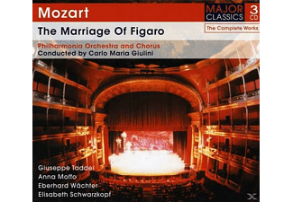 Elisabeth Schwarzkopf, Anna Moffo, Giuseppe Taddei, The Philharmonia Orchestra, Eberhard Waechter - The Marriage Of Figaro - (CD)