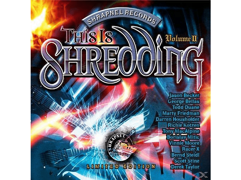 VARIOUS - This Is Shedding Vol.2 [CD]