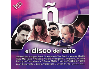VARIOUS - N-El Disco del Ano 2016 (3 CD+DVD) - (CD + DVD Video)