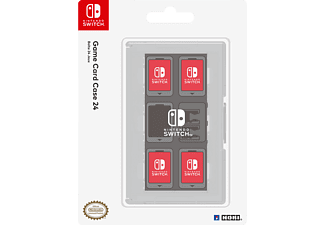 HORI Nintendo Switch Card Case (24) - Transparent, Nintendo Switch Tasche, Transparent