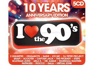 I Love The 90's - 10th Anniversary Edition CD