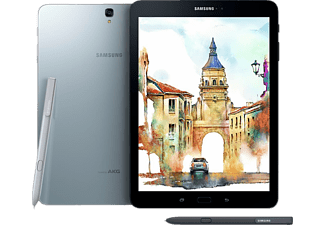 SAMSUNG Galaxy Tab S3, Tablet mit 9.68 Zoll, 32 GB Speicher, 4 GB RAM, Android 7.0, Silber