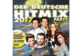 VARIOUS - Der deutsche Hitmix-Die Party 2017 - (CD)