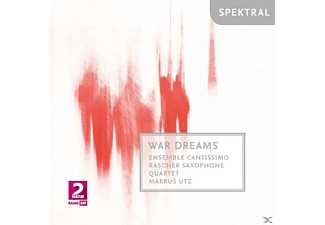 Lutz/Ensemble Cantissimo/Rascher Saxophone Quartet - War Dreams - (CD)