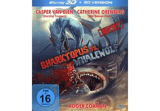 Sharktopus VS Whalewolf-(Uncut Edition) - (3D Blu-ray)